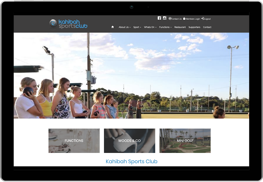 Kahibah Sports Club Managing Members Online