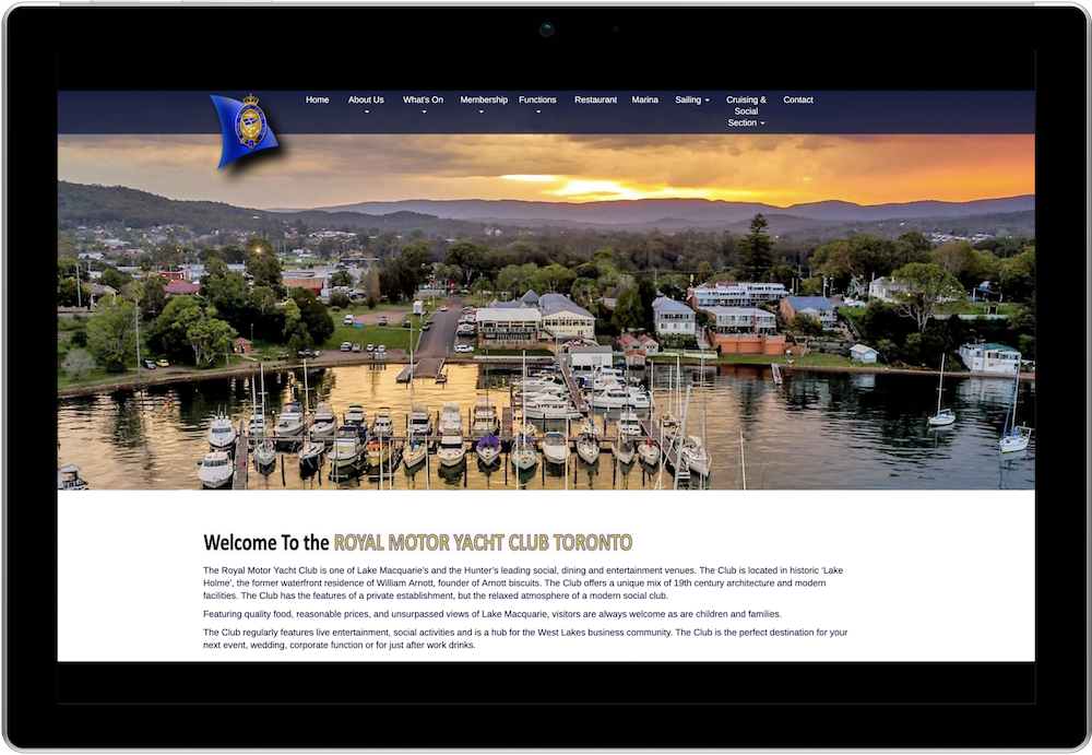 Licensed Clubs Online Membership Database - Royal Motor Yacht Club Website