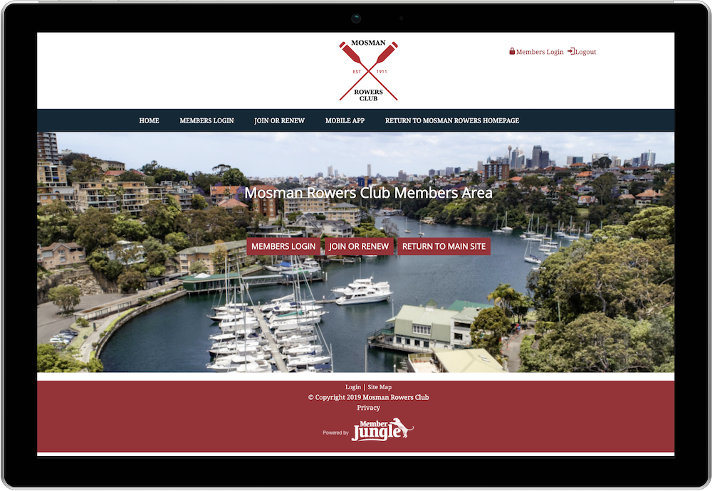 Mosman Rowers Club Scanning Digital Member Cards