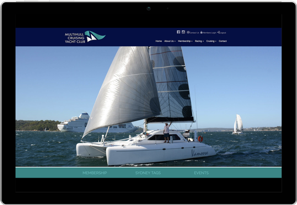 Multihull Cruising Club Membership Website