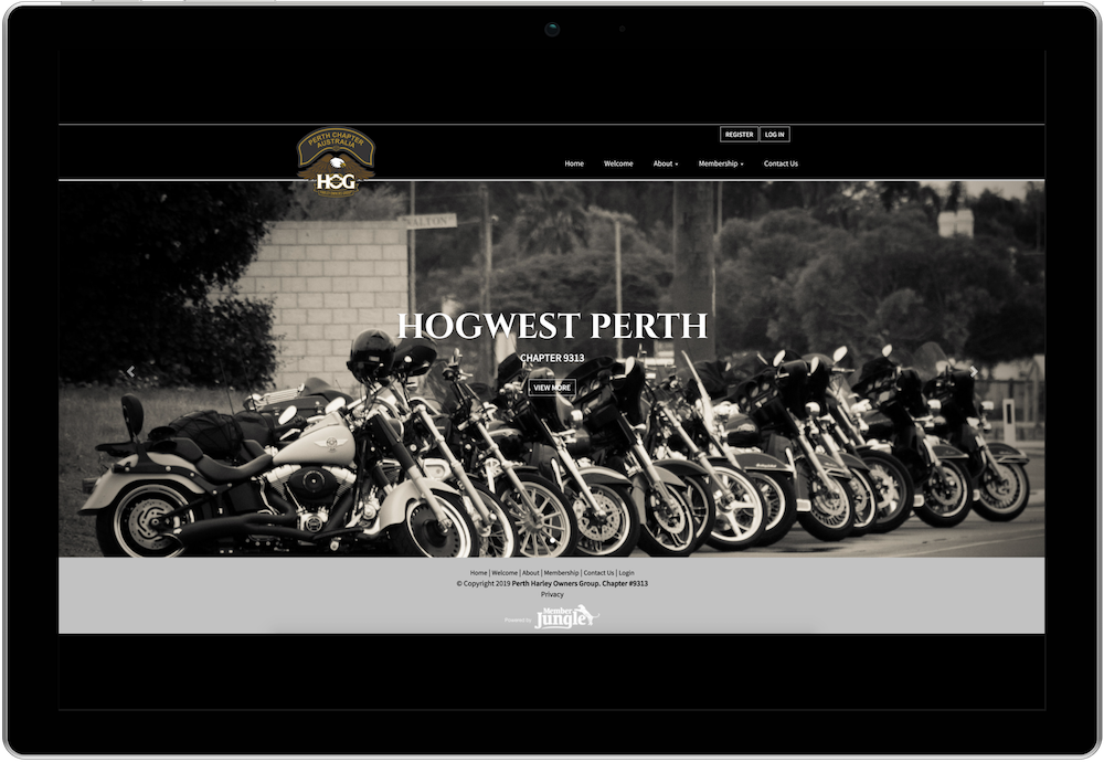 Perth H.O.G. Chapter Website