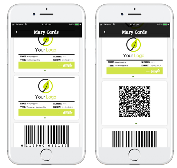 Digital Membership Cards for Licensed Clubs