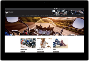 Online Membership Database for Victorian Motorcycle Council