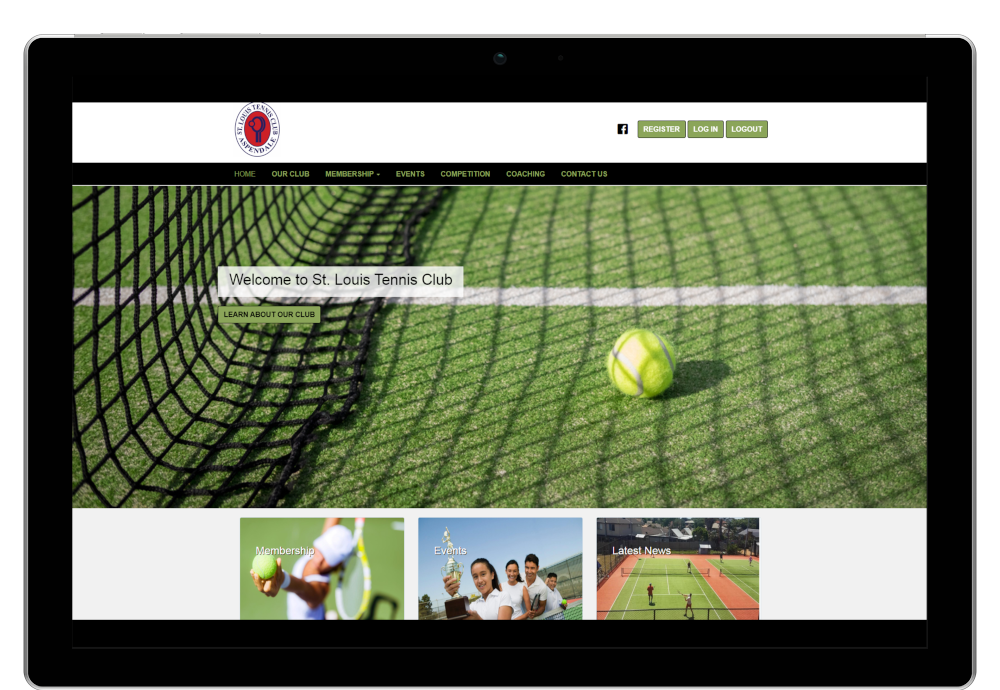 St. Louis Tennis Club Website