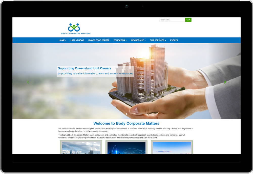 Body Corporate Matters Website