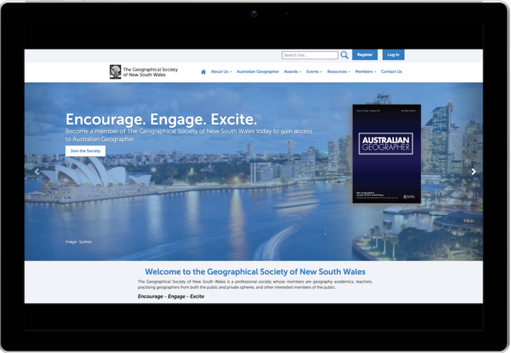 The Geography Society of NSW's Member Jungle Website