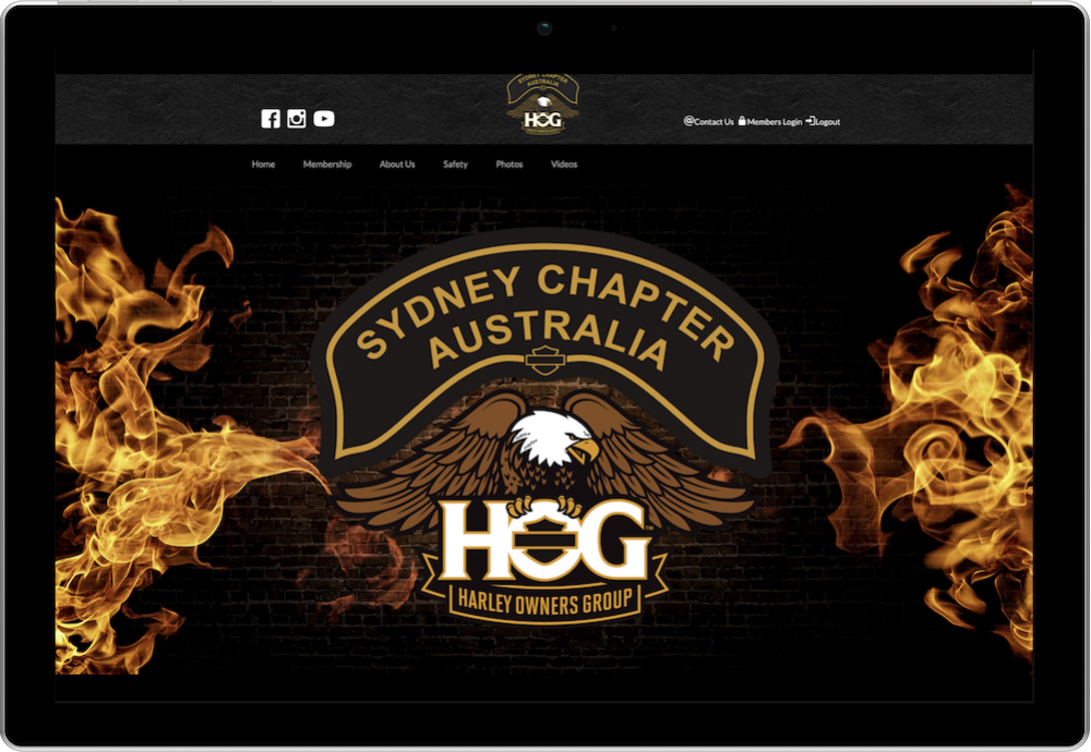 Sydney H.O.G. Chapter Membership Website