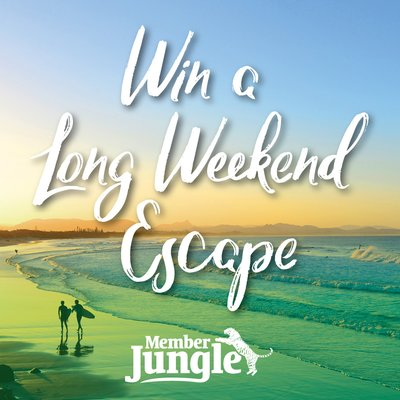 WIN: A 'long weekend escape' for a volunteer